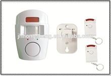 remote control induction alarm/two remote control