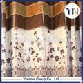 fr tela de la cortina de transferencia barato tela de la cortina de lujo de tratamientos de la ventana