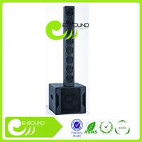 2015 newest NINGBO line array speaker box with class D amplifier