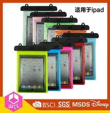 Popular best sell pvc/tpu for ipad mini waterproof bag
