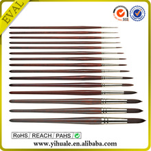 2015 HOT Paintging brushes 12 pcs with bag