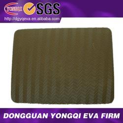 water ripple texture eva rubber shoe soles material