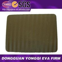 water ripple texture rubber eva shoe soles material