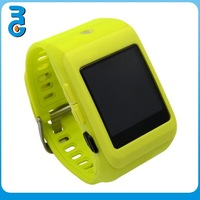 [Yellow]2015 high quality factory price multi-function 1.44' touch screen wireless bluetooth watch for smartphone