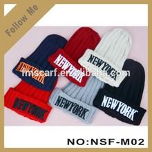2015 Fashion style Lady hand-made knitted hat women Wool Knitting hat