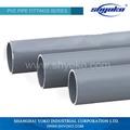 China profesional de la fabricación 5 mm tubo de pvc
