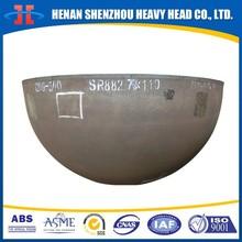 Hemispherical head for pressure tank