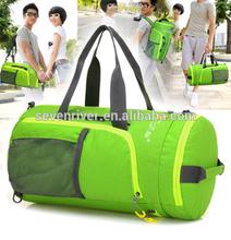 Wholesale outdoor travel bag/hand shoulder multifunctions outdoor foldable backpack