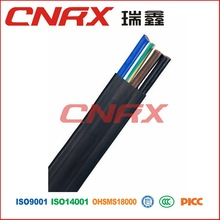 industrial electrical flat power cable China Promotion high quality 2 Cores flat wire power cable