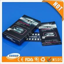 Home use White Smile 6% hydrogen peroxide Dental Strips, 3D Whitestrips for teeth whitening