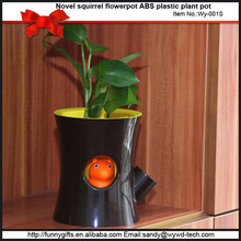 ABS plastic luxury plant pots gift set