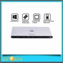 Fanless Portable Intel Atom Z3735F HD 1080p RJ45 Battery Powered Mini PC Windows 8.1