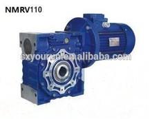 worm drive arrangement geared motor