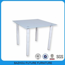 white painting glass table dining room furniture