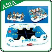 Hot Sale Inflatable Fun Island Pool Raft