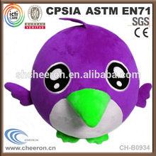 CE standard kid toy cute birds doll stuffed toy