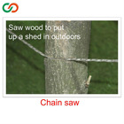 High quality camping survival kit outdoor gear chain saw