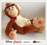 Animated Plush Monkey Singing and Dancing Toy
