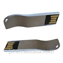 snake shape USB pen drives metal , mini USB stick for premium gifts