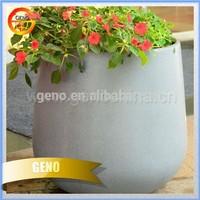 2015 hot sale round plastic flower pot liners, wooden planter, fiberglass planter