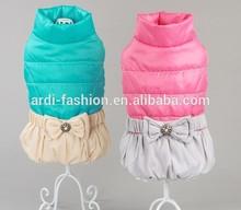 2015 wholesale ski warm winter fleece large dog jackets