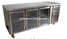Work Bench Stainless steel Pizza fridge/Kitchen pizza work table/Refrigeration Work Table & kitchen equipment