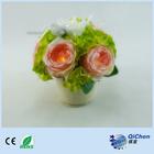 Creative handmade gifts led light fabric flowers