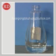 15ml clear empty perfume glass bottle