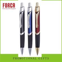 Advertising Promotional Bulk Grey metal Customed Logo Metal Ballpoint Rollings Pen