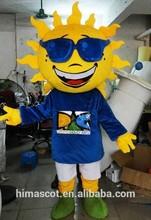 hot sale 2015 HI CE EN71 carnival mascot costume, adult costume carnival costume,sun mascot costume