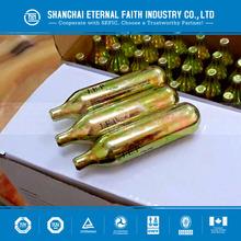 High Pressure Mini CO2 Cylinder Gas Cylinder 24g CO2 Cartridge