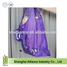 Nylon Custom animal shaped foldable bag for promotion ALD1048