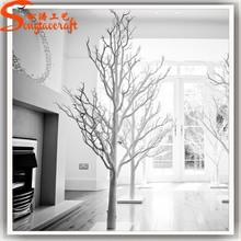 2015 latest design fashion decoration Artificial White Dry Tree Branch Decoration coral