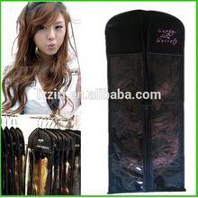 Cheap convenient pvc hair extension bag