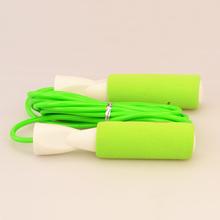 Hot sale PVC aoxue crossfit jump rope with sponge handle jump rope
