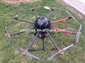 Levantamento aéreo uav drone uav aeronave cruzadas kart veículos
