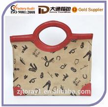 Custom 2015 Print Canvas Messenger Bag Tote Bag