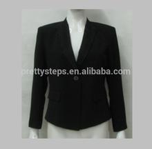 Pretty Steps black latex coats for women