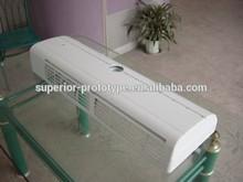 Air conditioner casing plastic abs CNC prototype manufacturing