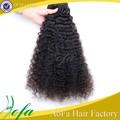 virgen de alta calidad sin procesar las extensiones de cabello afro peruanos de onda profunda