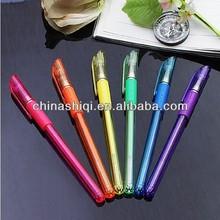 Fancy neon colors liquid gel ink pens