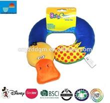 Baby infants kids pillow duck car/U duck shape pillow Saver Protector Head Support Pillow