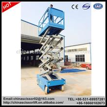 Self Propelled hydraulic personal scissor lift