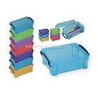 Transparent Color Mini Plastic Storage Box