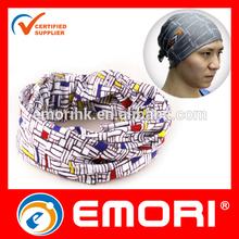 Low cost Customized microfiber multifunctional tubular bandana headwear