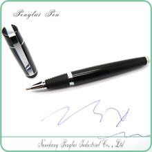 Gentleman Elegant black ball pen, good present pen for women