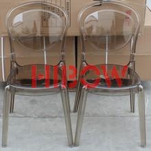 Alta quatity cadeira de plástico brown