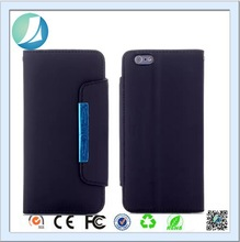 2015 New arrival stand Wallet leather flip case for iphone 6