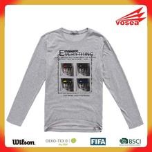 vosea men printing Baby cotton long-sleeved T-shirt