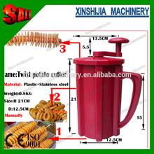 New three function manual spiral potato cutter machine(skype:xinshijia.jessica)